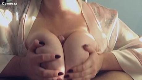 Gentle Titfuck and Cum between Tits