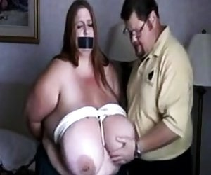 Amateur bdsm and hot wax punishment of mature bbw