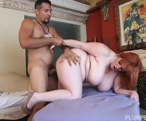 Plump milfs Naked redhead remarkable, rather
